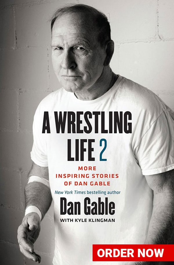 "Dan Gable's ""A Wrestling Live 2"" Book Cover"